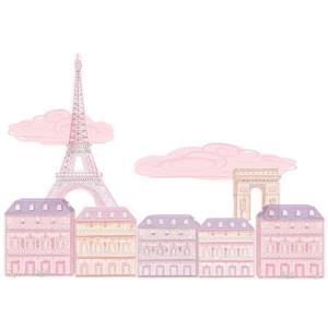 Trousse d'art mural Oui Oui de Paris, WallPops