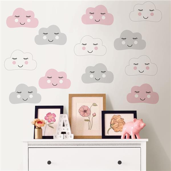 Trousse d'art mural tête dans les nuages, WallPops