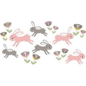 Trousse d'art mural amour de Somebunny, WallPops