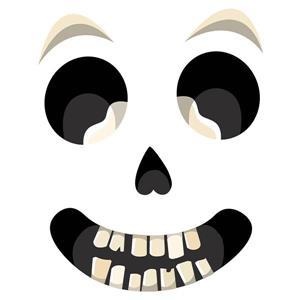 Sir Bones Door Decal