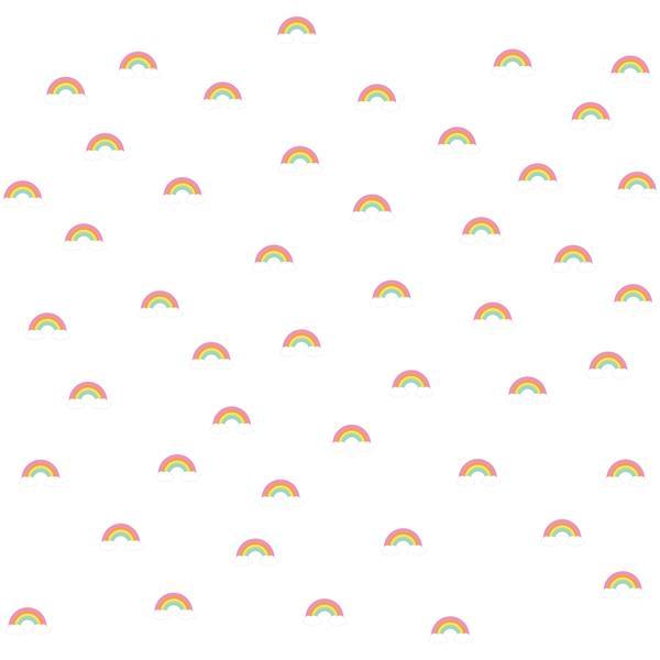 Trousse d'art mural arc-en-ciel MiniPop , WallPops