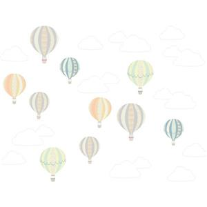 WallPops Up, Up and Away Wall Art Kit