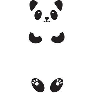 Trousse d'appliqué mural Lucy la Panda, WallPops