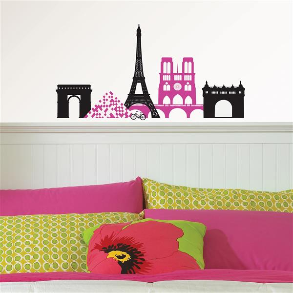 WallPops Springtime in Paris Wall Art Kit