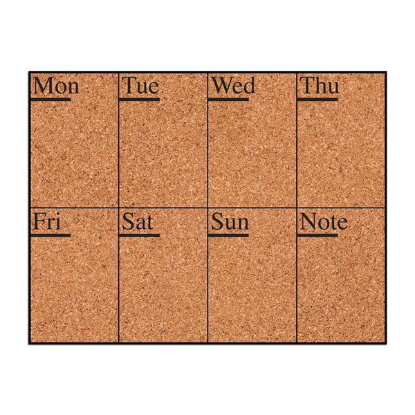 WallPops Week Days Cork Pin Board Decal