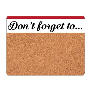 WallPops Don't Forget Cork Pin Board Decal