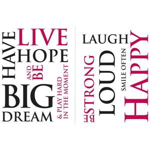 WallPops Have Hope Wall Quotes