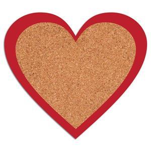 WallPops Heart Cork Pin Board Decal