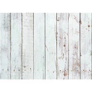 Panneau de cuisine en bois blanc