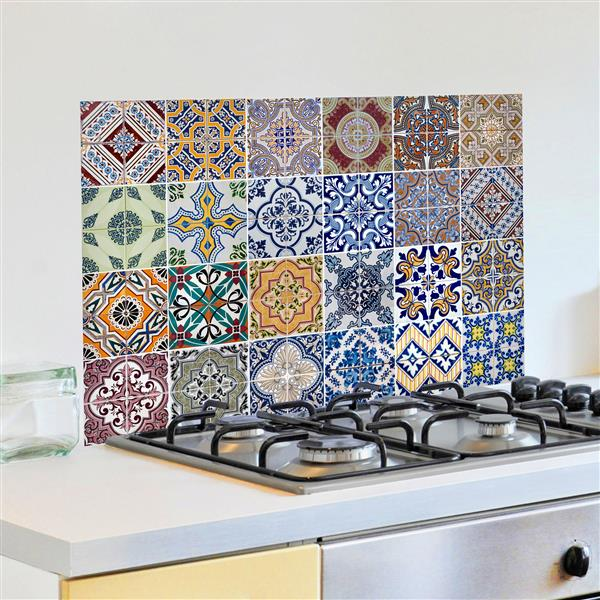 Panneau de cuisine Azulejos, WallPops