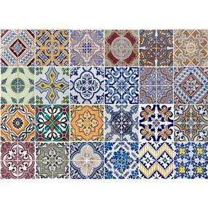 WallPops Azulejos Kitchen Panel