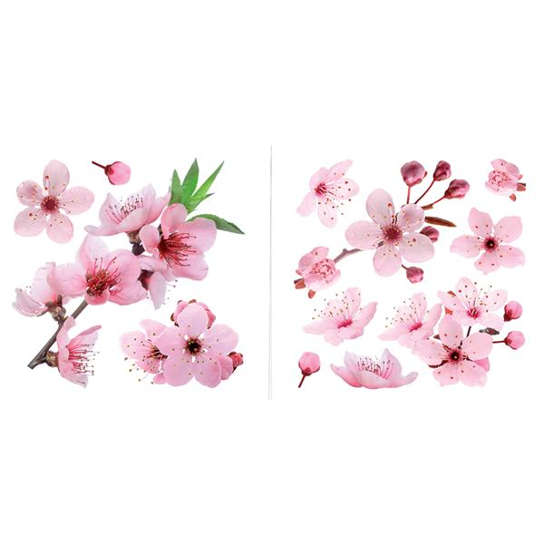 Trousse d'appliqué mural WallPops, fleurs de cerisier