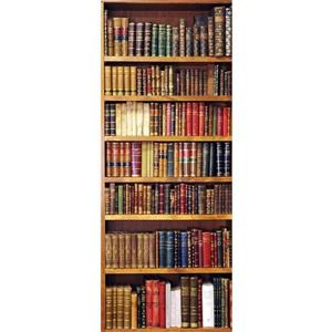 WallPops Bookcase Door Cover Applique