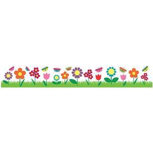 Trousse d'appliqué mural brodure en fleurs