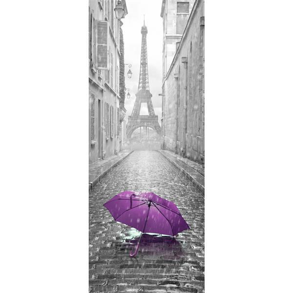 WallPops Eiffel Tower Door Cover Applique