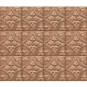 Brewster Wallcovering Tin Tile Backsplash - Copper