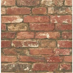 NuWallpaper West End Brick Wallpaper