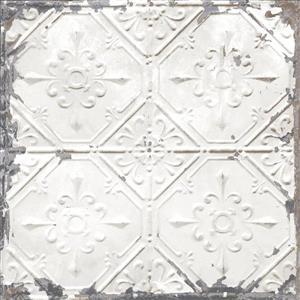 NuWallpaper Vintage Tin Tile Wallpaper