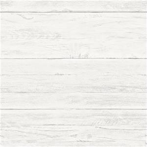 NuWallpaper Shiplap Wallpaper