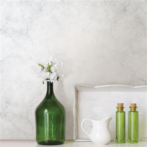 NuWallpaper Carrara Marble Wallpaper