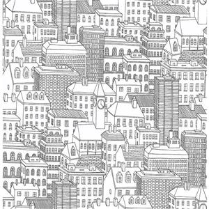 NuWallpaper Metropolis Wallpaper