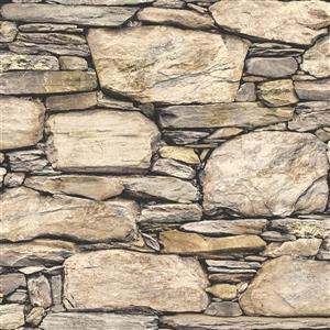 NuWallpaper Hadrian Stone Wall Wallpaper