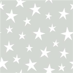 Papier peint Stardust, gris