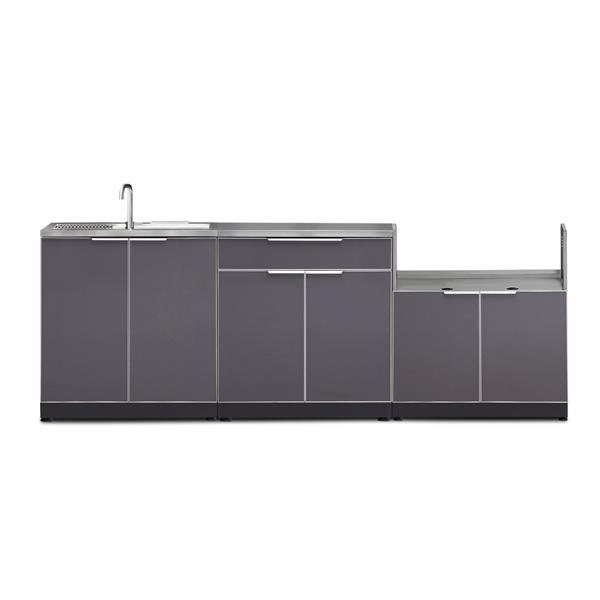 NewAge Products Outdoor Kitchen Aluminum 4 Piece Set