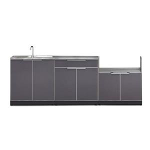 Outdoor Kitchen Aluminum 4 Piece Set