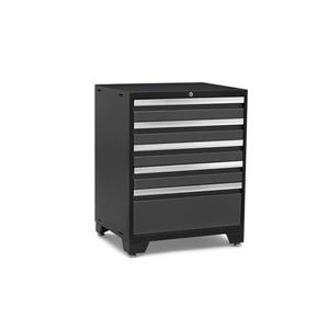 NewAge products 28-in x 22-in 5-Drawer Grey Pro 3.0 Series Tool Cabinet