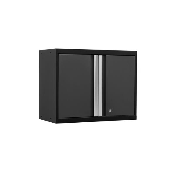 NewAge Products 23.50-in x 28-in 1 Piece Grey Pro 3.0 Series Wall Cabinet
