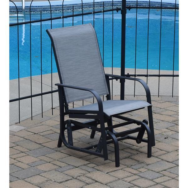 Chaise à billes pour l'extérieur, Gris