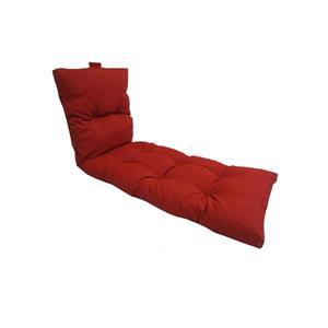 Coussin de chaise longue Bozanto, Rouge, 70