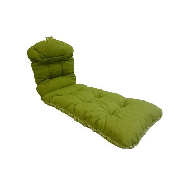 "Coussin de chaise longue Bozanto - Vert - 70"""