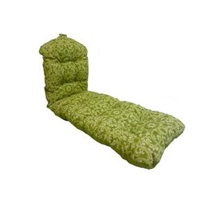 Bozanto 70-in Green Floral Reversible Outdoor Lounge Cushion
