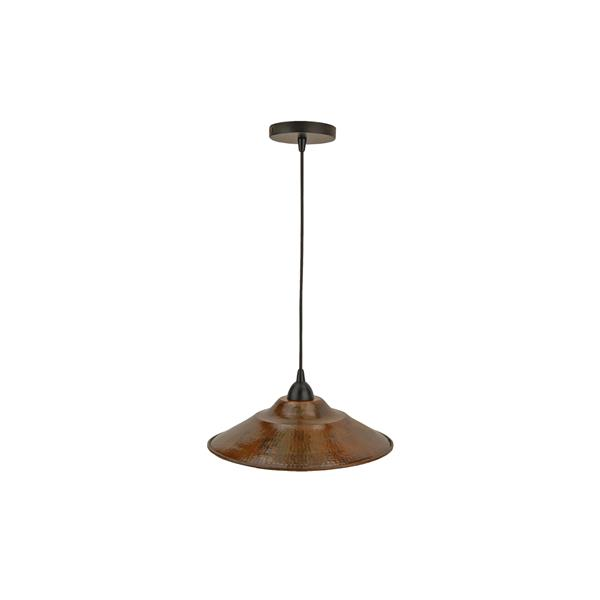 Premier Copper Products 13-In Copper 1-Light Pendant Light