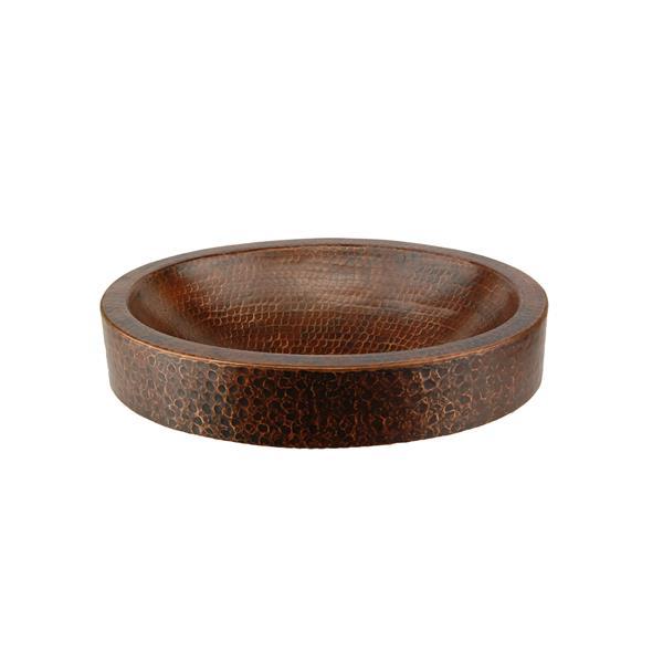 Lavabo ovale Premier Copper, Cuivre