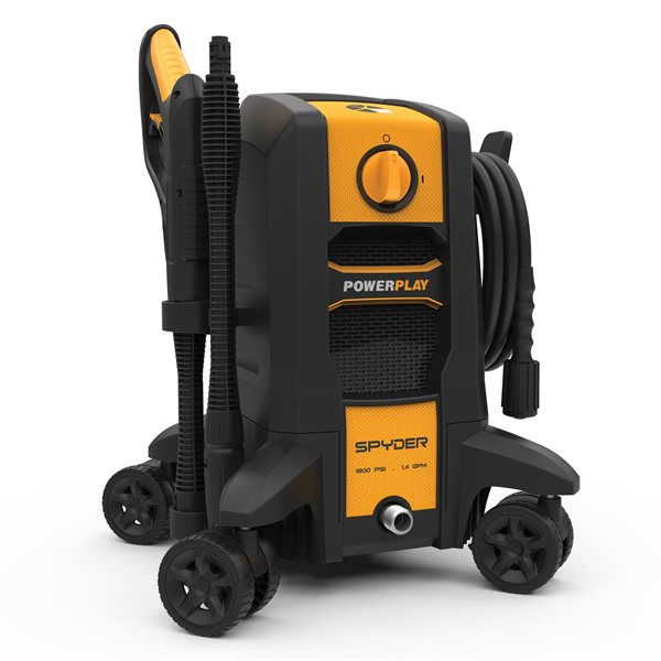 Power Play Spyder 1800PSI Electric Pressure Washer