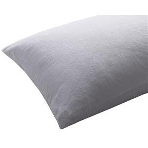 "Protecteur d'oreiller imperméable SilverClear, 26"", blanc"
