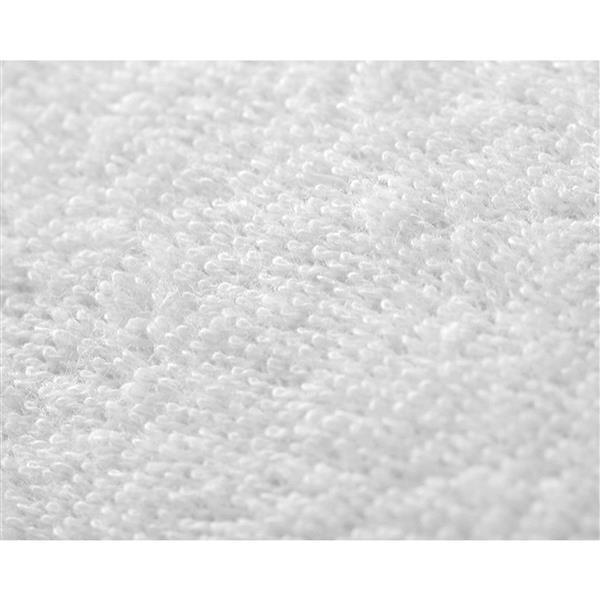 "Protecteur d'oreiller imperméable SilverClear, 36"", blanc"