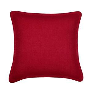 Coussin décoratif Millano, tweed, rouge