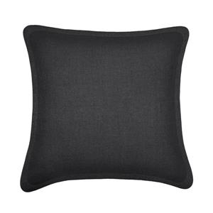 Millano Collection Dark Gray Decorative Tweed Cushion