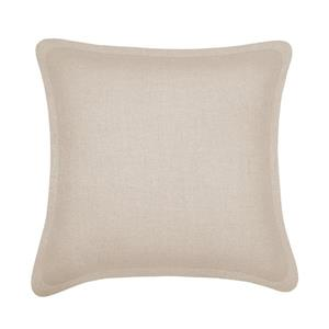 Millano Collection Beige Decorative Tweed Cushion