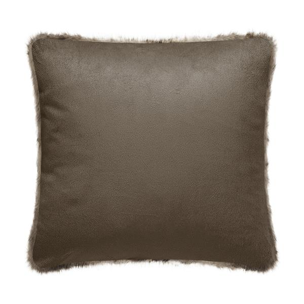 Millano Collection Swallow Wolf Faux Fur Decorative Cushion