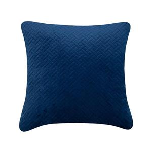 Millano Collection 18-in Blue Cotton Decorative Cushion