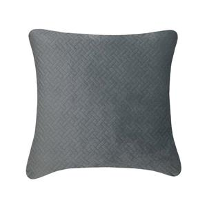 Millano Collection Quiltee Gray Decoractive Cushion