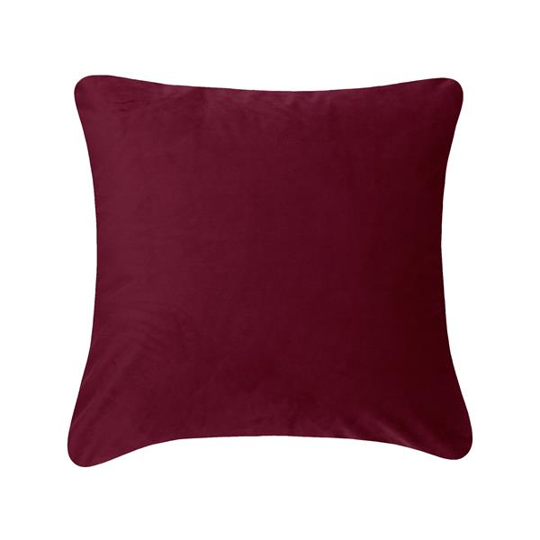 Millano Collection 18-in Burgundy Decorative Cushion