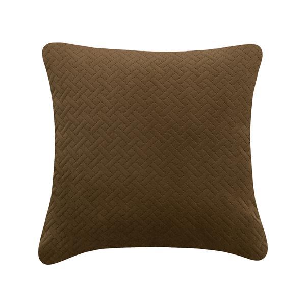 Coussin décoratif Millano, brun