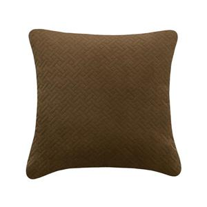 Millano Collection 18-in Brown Decorative Cushion