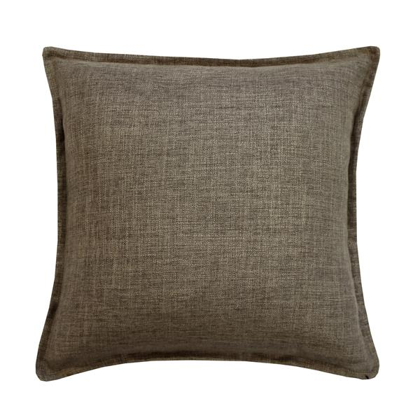 Millano Collection Taupe Linen Decorative Cushion